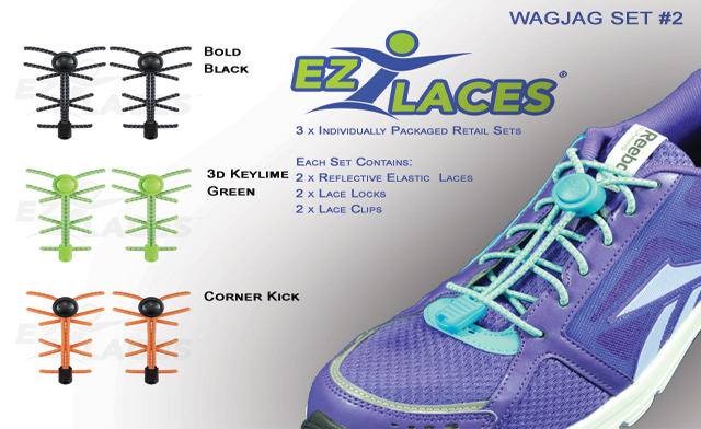 $17 for 3 Pairs of EZLACES (a $35 Value) - Shipping Included