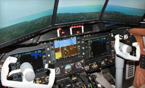 Click to view Up to 75% off 1 Hour in Flight Simulator for 1, 2 or 4 People at Flight Master