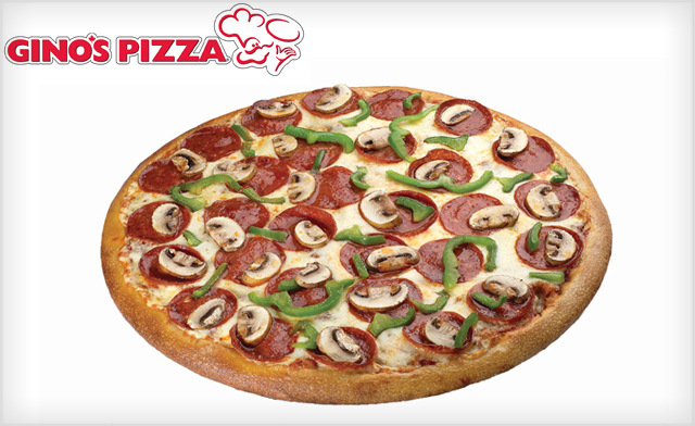 50% Off an X-Large 5 Topping Pizza at Gino's Pizza