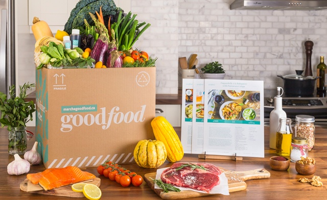 3 or 4-Meal Ingredient Box for Two or Four, Delivered to Your Home by Goodfood