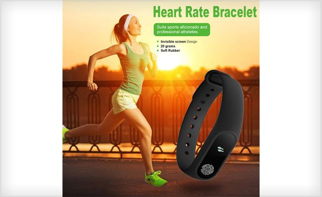 $24.99 for a M2 Fitness Tracker Heart Rate & Blood Pressure Monitor (a $99 Value)