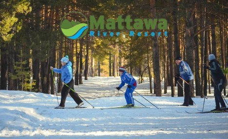 $48 for a Cross Country Ski Season's Pass from Mattawa River Resort (a $168 Value)