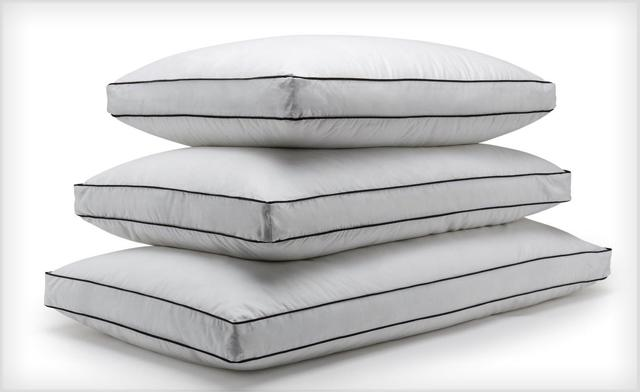 51% off Set of 2 Microfibre Down Alternative Pillows