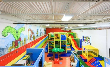 Up to 43% off Indoor Playground Admission or a Birthday Party