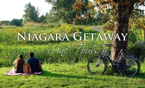 Up to 53% off a Five-Hour Bicycle and Wine Tour for Two or Four at Niagara Getaways
