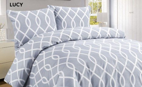 81% off Organic Feel Microfibre Duvet Cover Sets