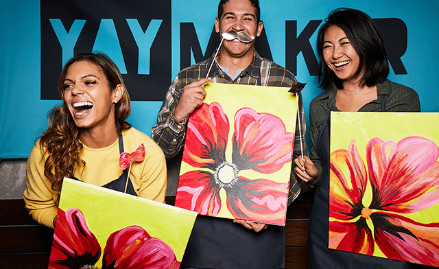 Up to 28% off at Paint Nite by Yaymaker