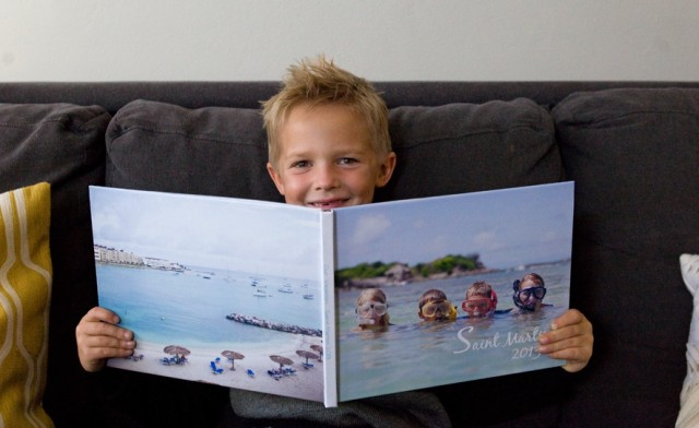 $12 for a 20-Page Custom Hardcover Photo Book from Picaboo