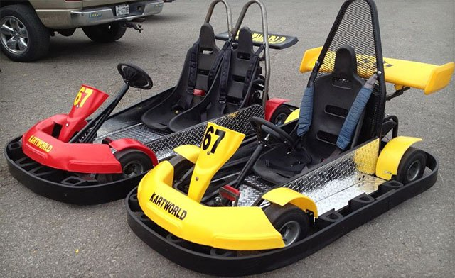 $27 for Two 20-Minute Go-Kart Rides (a $54 Value)