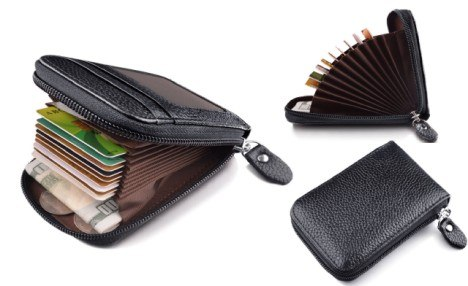 $15 for an RFID Faux Leather Wallet (a $50.85 Value)