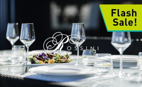 FLASH SALE! Up to 63% off a 4-Course Dinner for Two or Four People with Wine