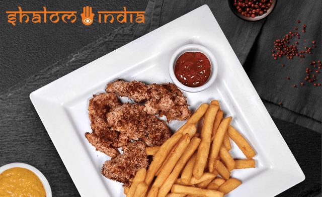 $15 for $30 Towards Kosher Indian & Indo-Chinese Cuisine at Shalom India