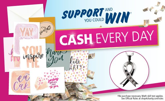 WagJag Exclusive: Get 2 Entries to the 2019 Shop4Charity Sweepstakes & a Pendant Necklace for $45
