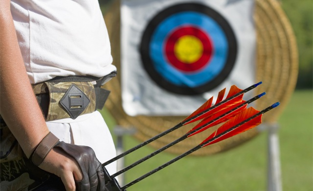 Up to 63% off 2-Hour Archery or an Axe OR Knife-Throwing Class for 2 or 4 People in Oakville