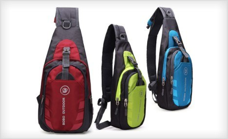 $15 for a Sport Water Resistant Durable Sling Bag (a $56.50 Value)