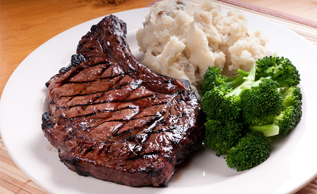 $98 for 8 lbs of AAA Rib Steak Bone-In (a $125 Value)