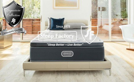 Click to view Up to 23% off a Sleep Factory Signature Collection Adjustable Base with Remote