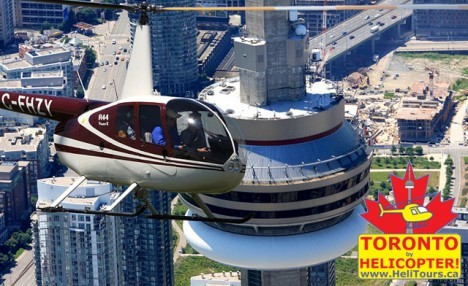 $189 for a Helicopter Tour of Toronto for Up to 3 People from Toronto Heli Tours (a $327 Value)