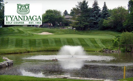 $69 and Up for 18 Holes of Golf for 2 or 4 People with Cart and Same-Day Replay