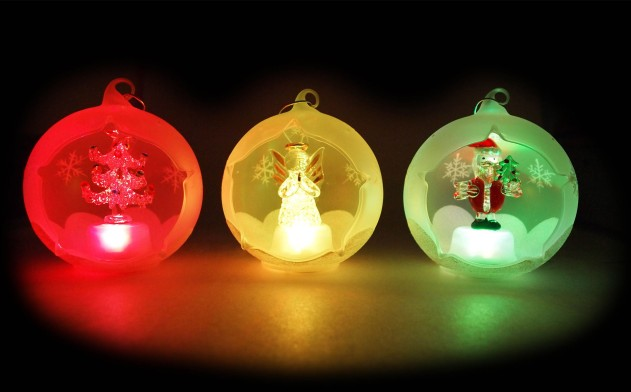 Up To 70 Off Gl Light Christmas Ornaments 2 Options Includes Shipping