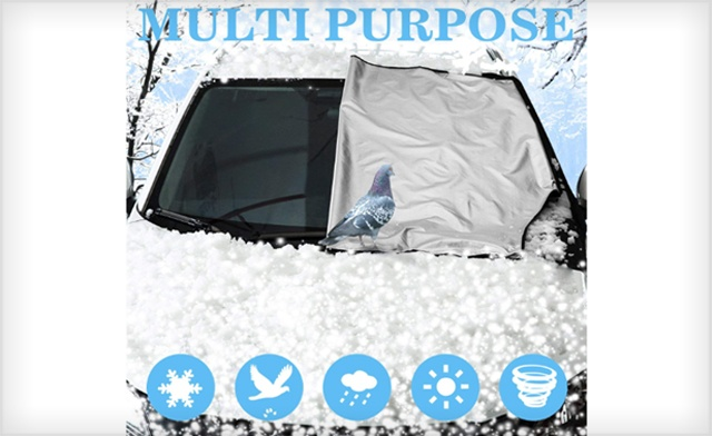 $17 for a Magnetic Car Windshield Protector (a $66.67 Value)